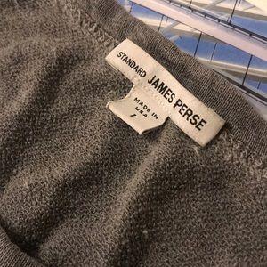 James Perse Size 1 thin sweatshirt